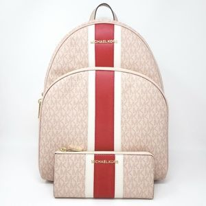 Michael Kors Abbey Backpack Set